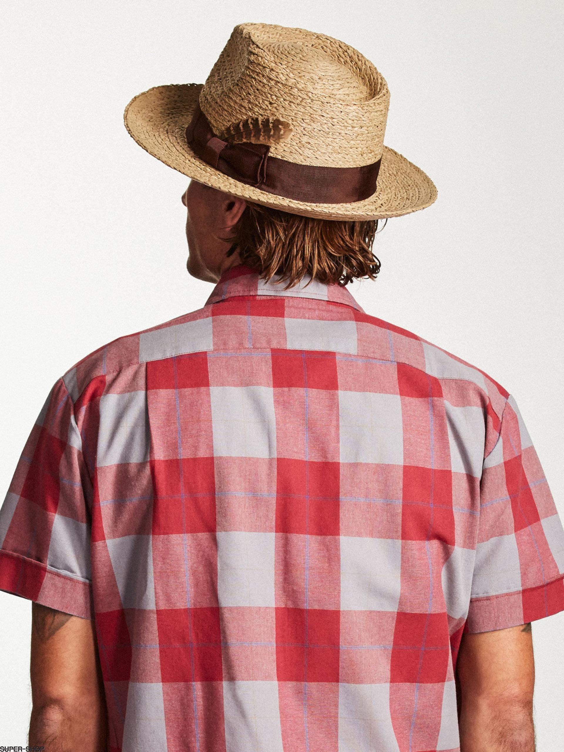 c51a349146a02 Brixton Hat Crosby Fedora (tan)