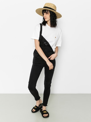 Carhartt T-shirt Chase Wmn (white/gold)