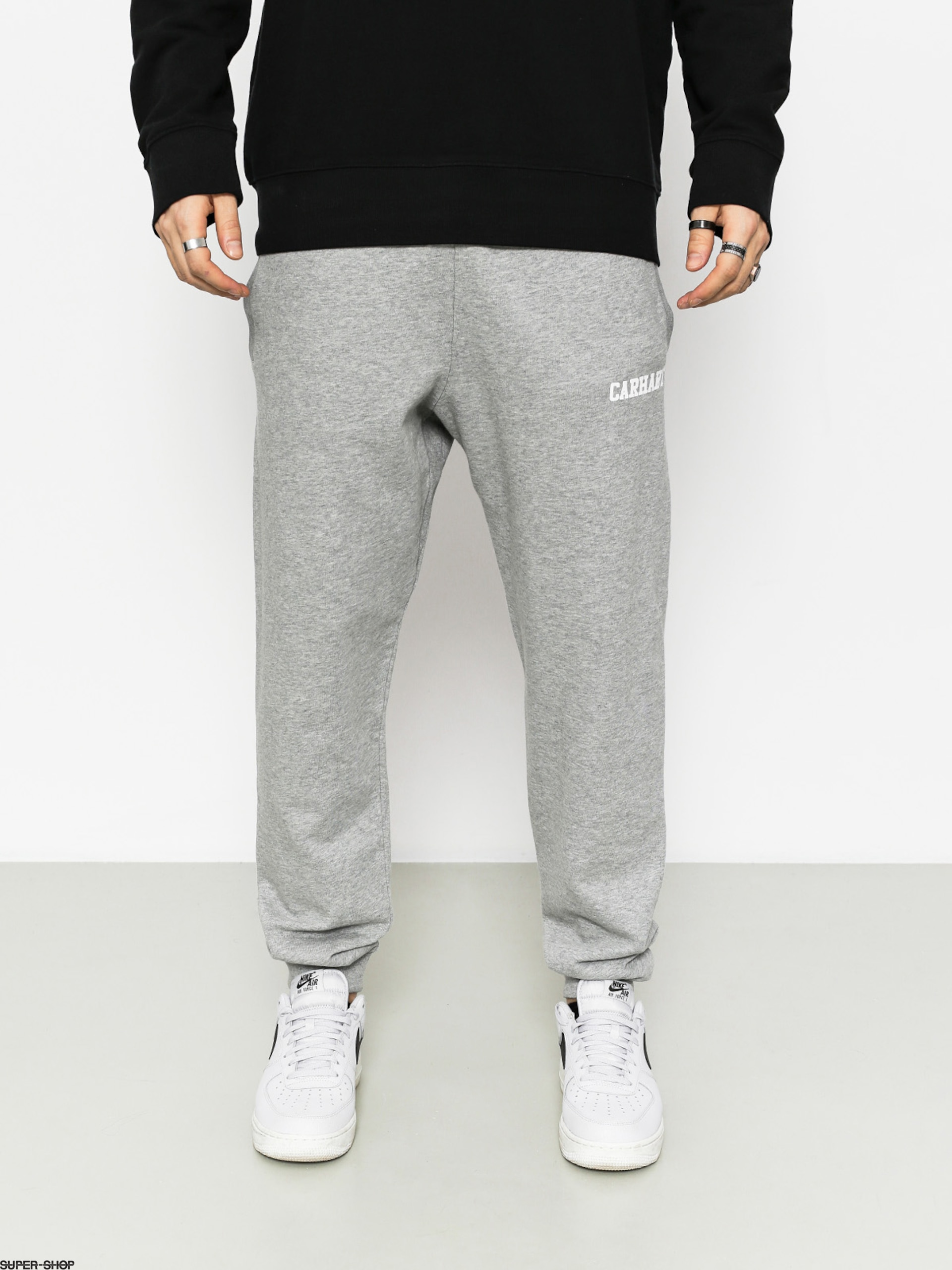 Carhartt Pants College (grey heather/white)