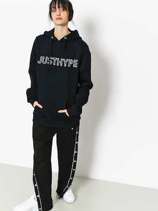 Hype Hoody Embroidered HD Wmn (navy/white)