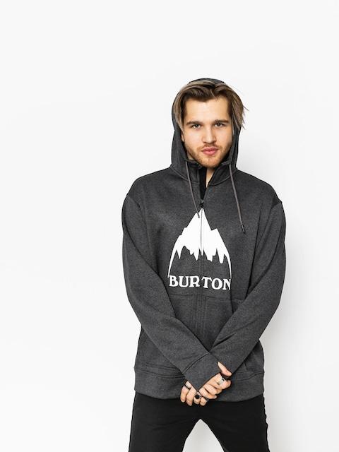 Burton Hoody Oak ZHD (true black heather)