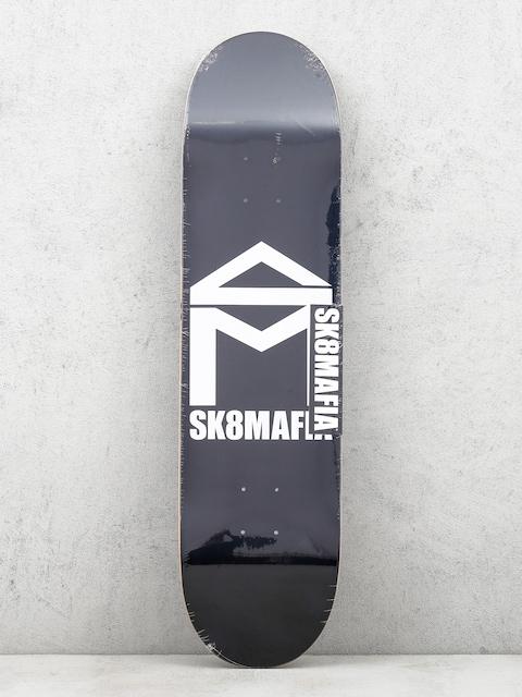 Sk8Mafia Deck House Logo (black)