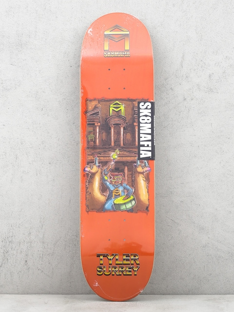 Sk8Mafia Deck 7 Wonders Tyler Surrey (orange)