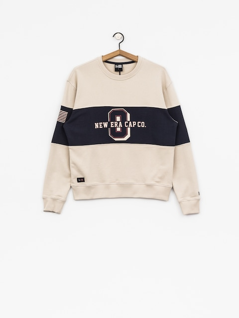 New Era Sweatshirt World (tan/navy)