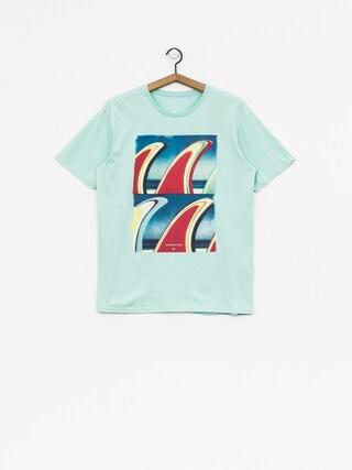 Quiksilver T-shirt Classic Fin Fanatic (eggshell blue)