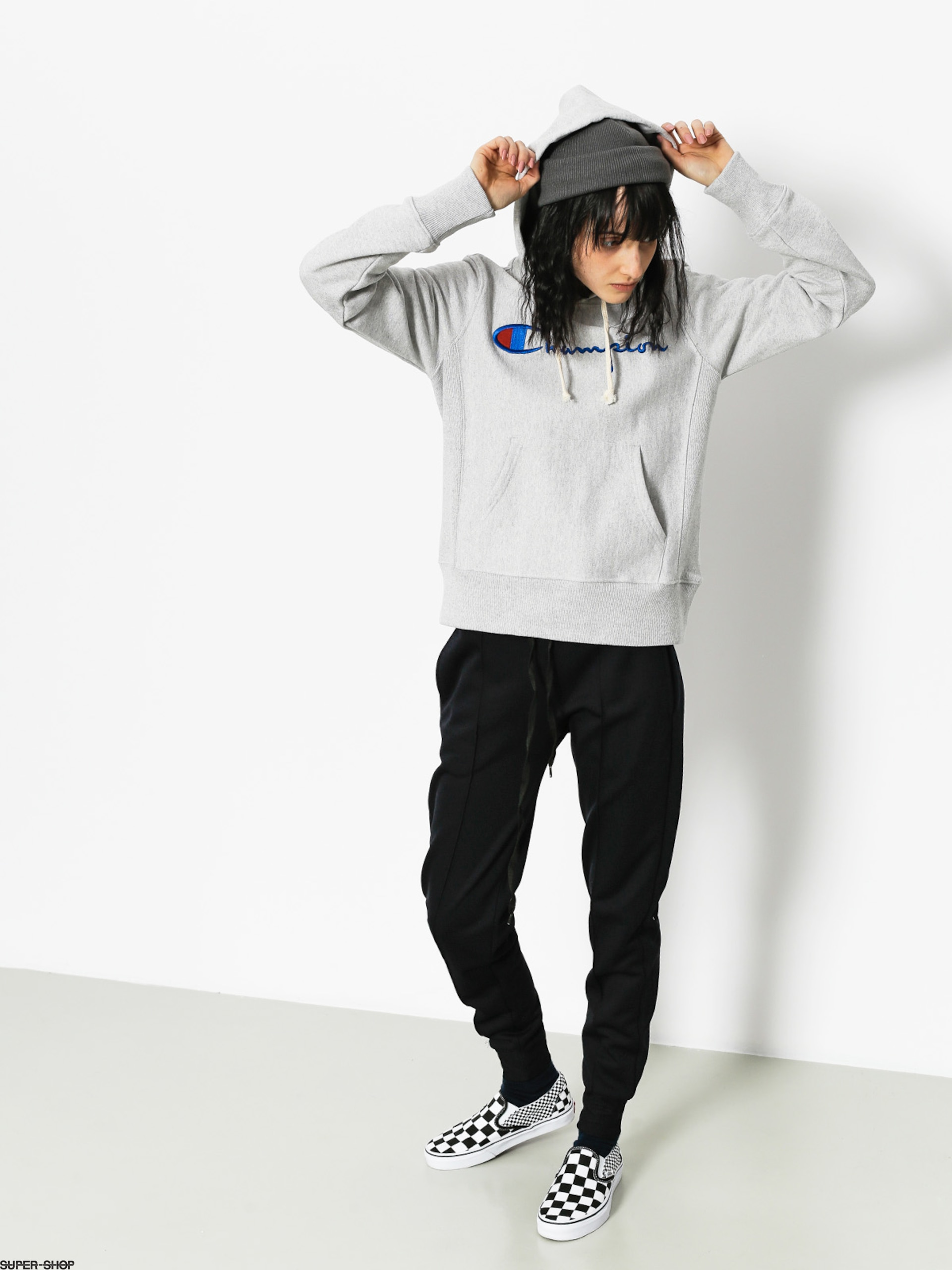 Champion Hoody Reverse Weave Hooded Sweatshirt HD Wmn (loxgm)