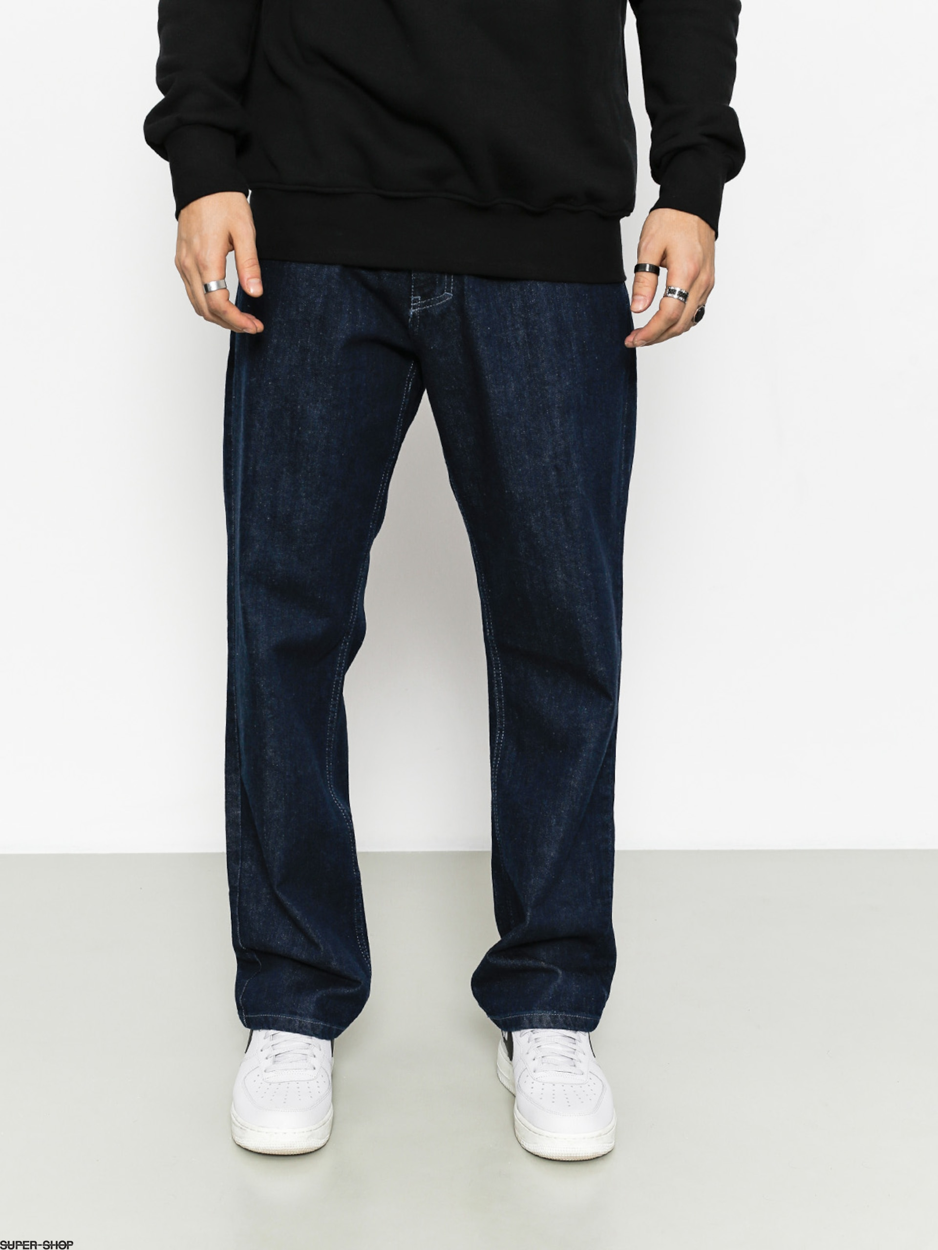 El Polako Pants Ep Regular Outline Jeans (dark)