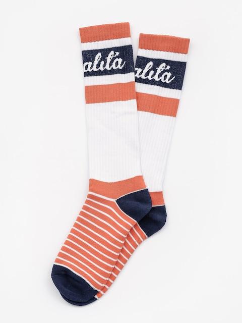 Malita Socken Logo Long (orange)