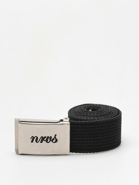 Nervous Belt Script (black/silver)