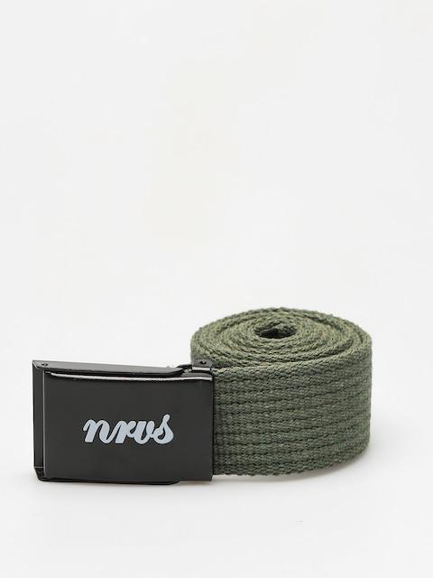 Nervous Belt Script (olive)