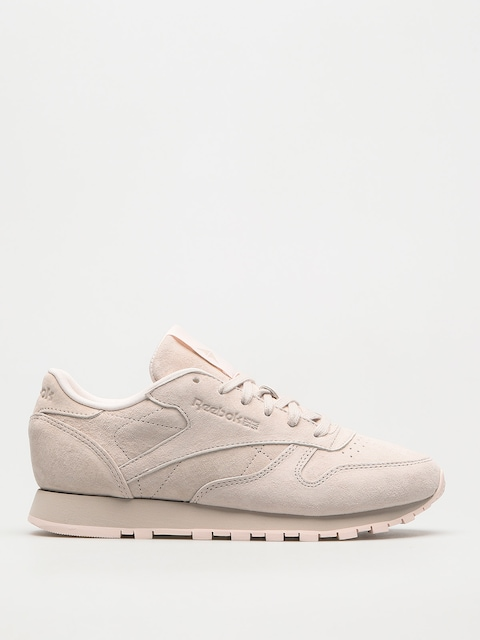 Reebok Shoes Cl Lthr Tonal Nbk Wmn (sand stone/pale pink)
