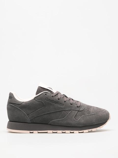 Reebok Schuhe Cl Lthr Tonal Nbk Wmn (ash grey/pale pink)