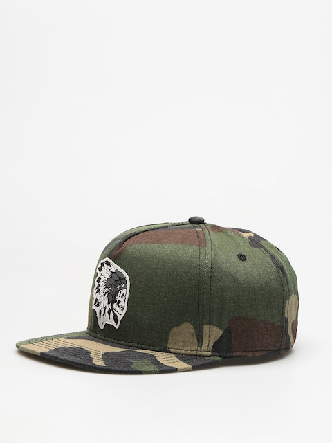 Cayler & Sons Cap Csbl Freedom Corps ZD (woodland/white)