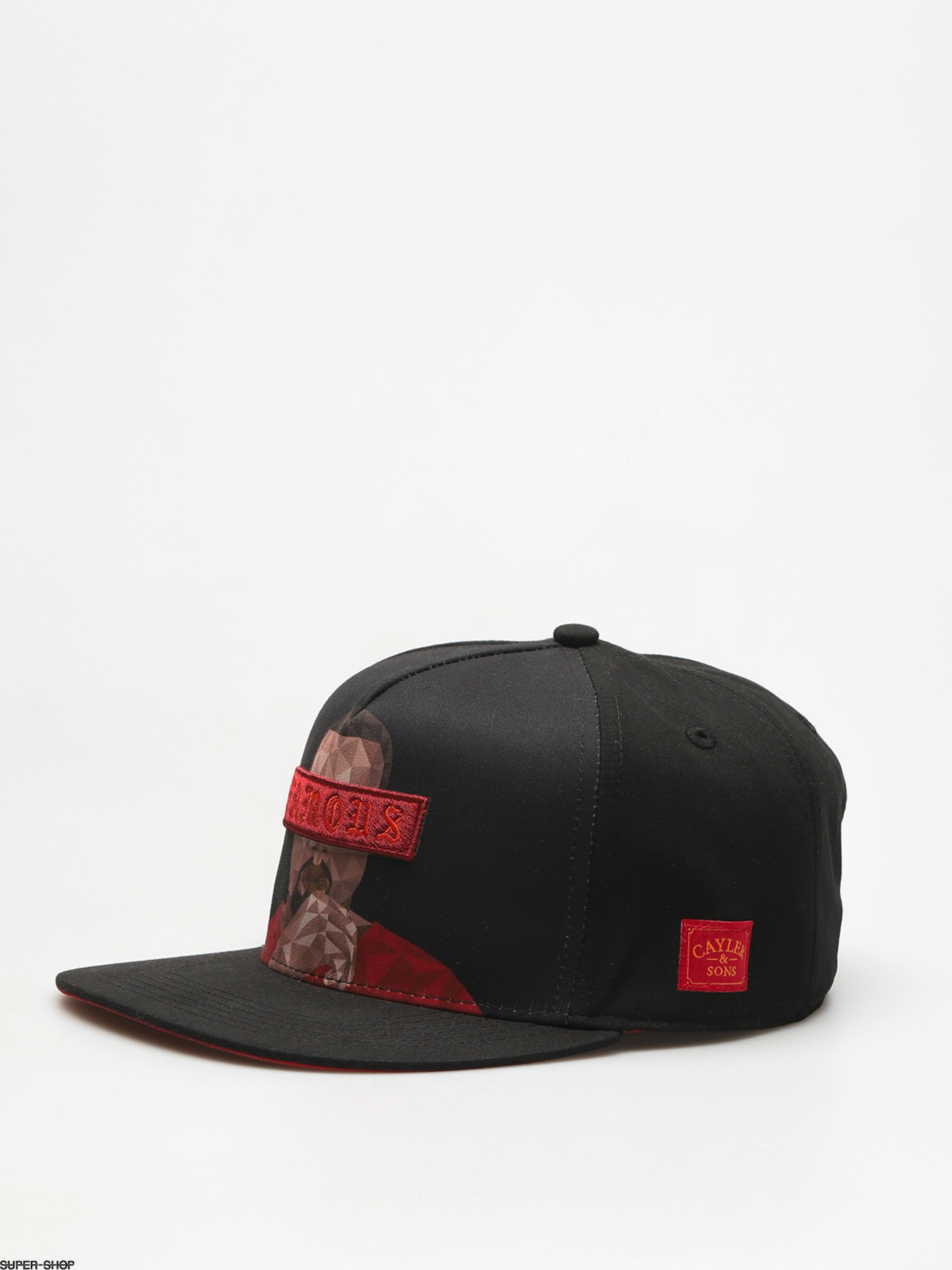 Cayler & Sons Cap Wl Drop Out ZD (black/red)