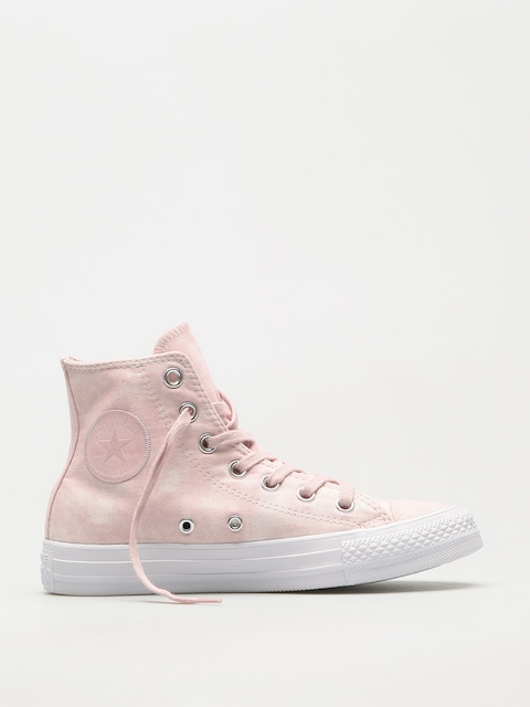 Converse Chucks Chuck Taylor All Star Hi (barely rose/barely rose/white)