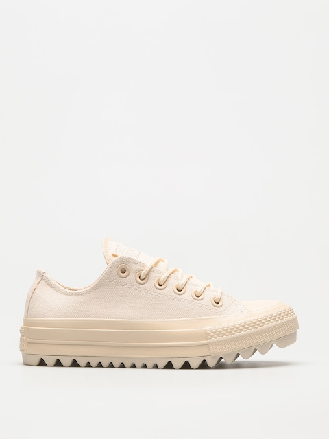 Converse Chucks Chuck Taylor As Lift Ripple Ox Wmn (natural/natural/natural)