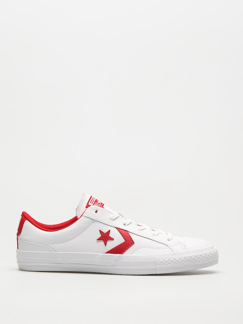Converse Chucks Star Player Ox (white/enamel red/white)
