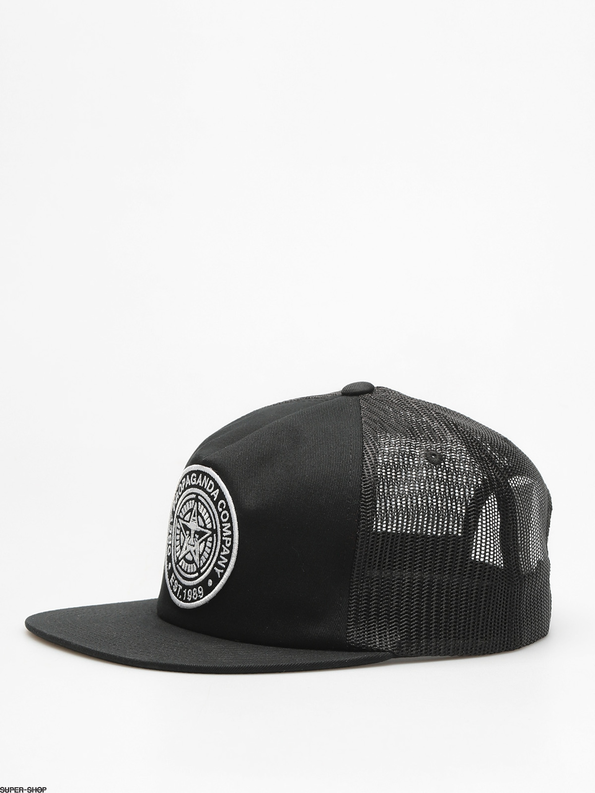 OBEY Cap Established 89 Trucker II ZD (blk)