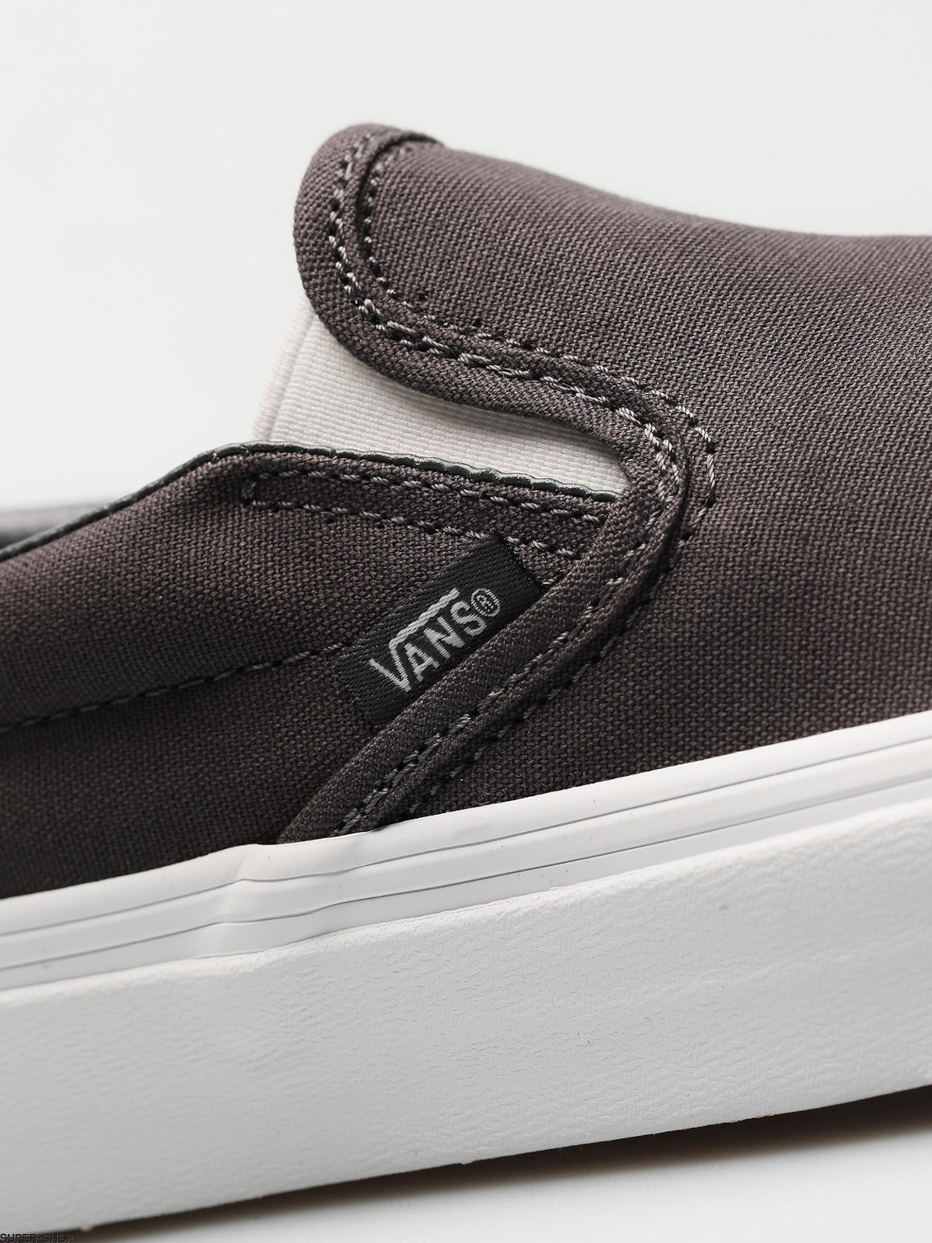f2d04661686969 Vans Shoes Classic Slip On (mono canvas asphalt)