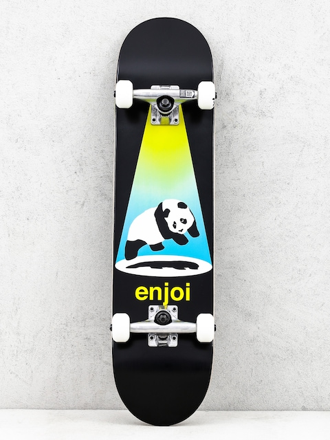 Enjoi Skateboard Abduction (yellow/blue)
