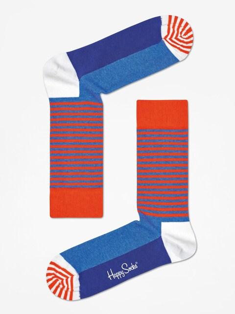 Happy Socks Socks Half Stripe (orange/blue)