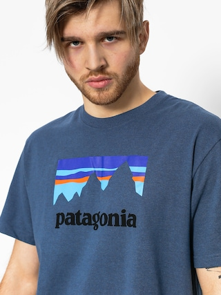 Patagonia T-shirt Shop Sticker Responsibili (dolomite blue)