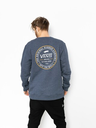 Vans Sweatshirt Established 66 Crew (dress/blues/heather)