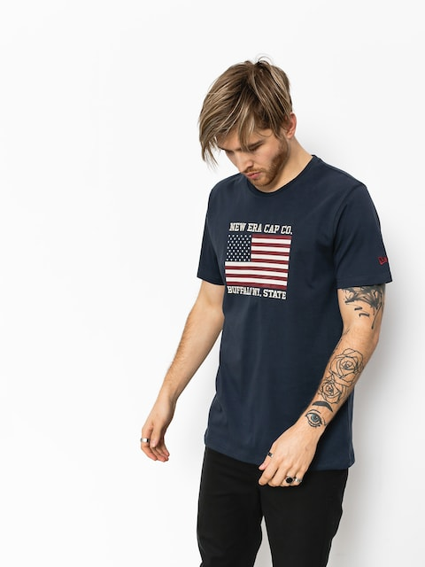 New Era T-shirt World (navy)