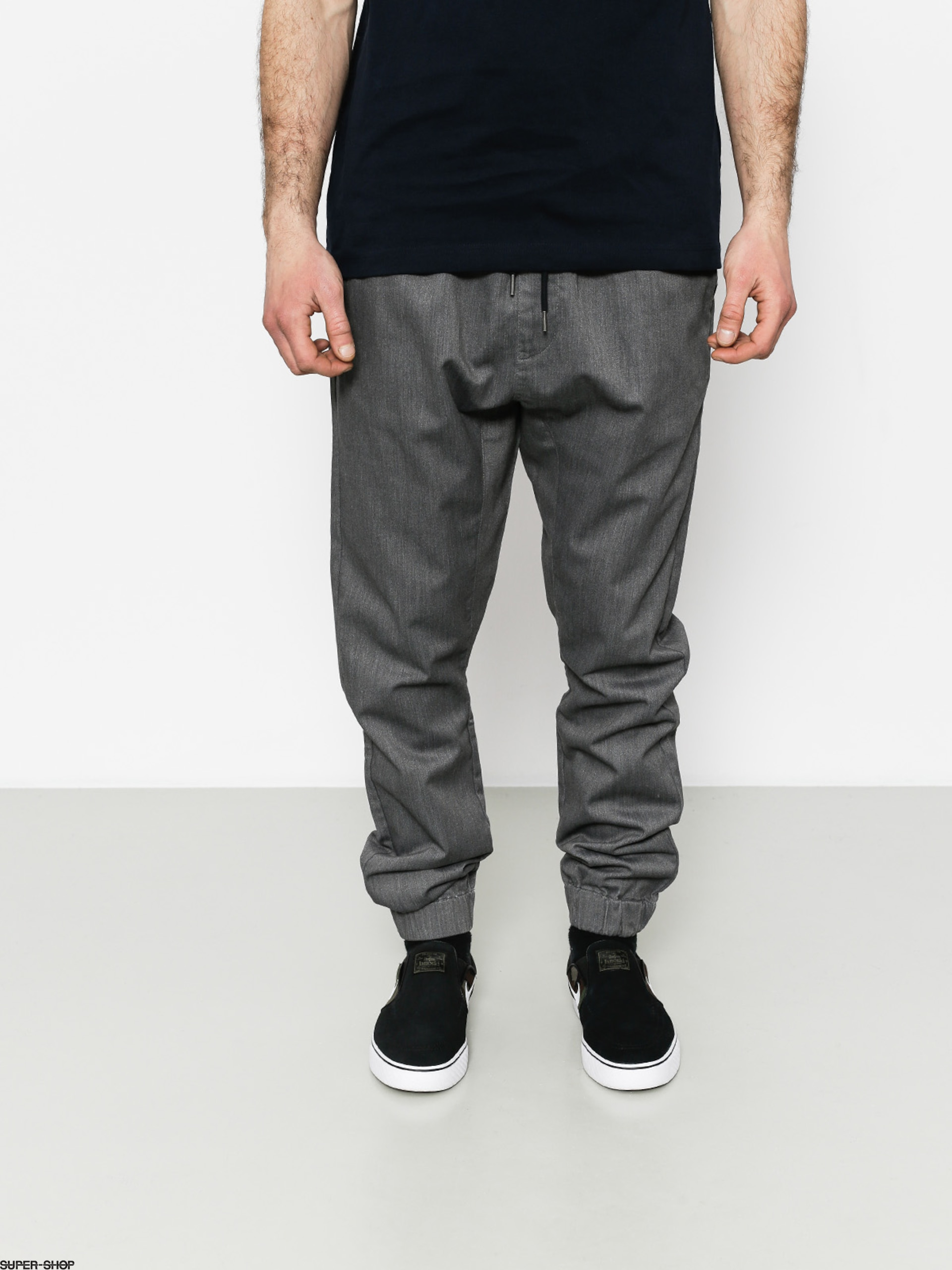 Quiksilver Pants Fonic (dark grey heather)