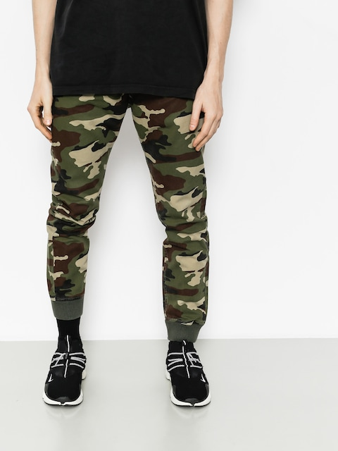 MassDnm Pants Joggers Classics (woodland camo)