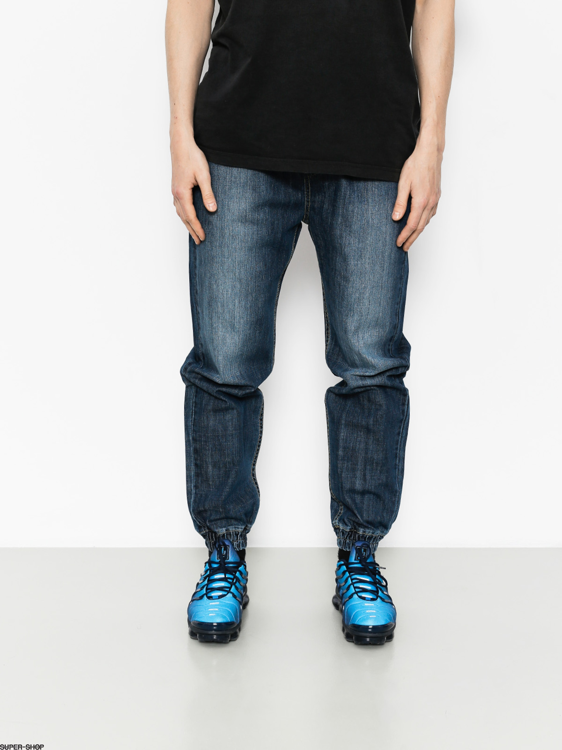 MassDnm Pants Joggers Signature (dark blue)