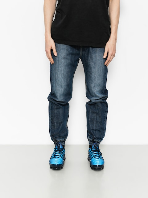 MassDnm Pants Joggers Signature (dark blue)