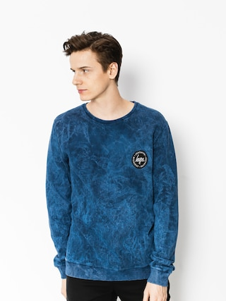 Hype Sweatshirt Acid Crest (blue)