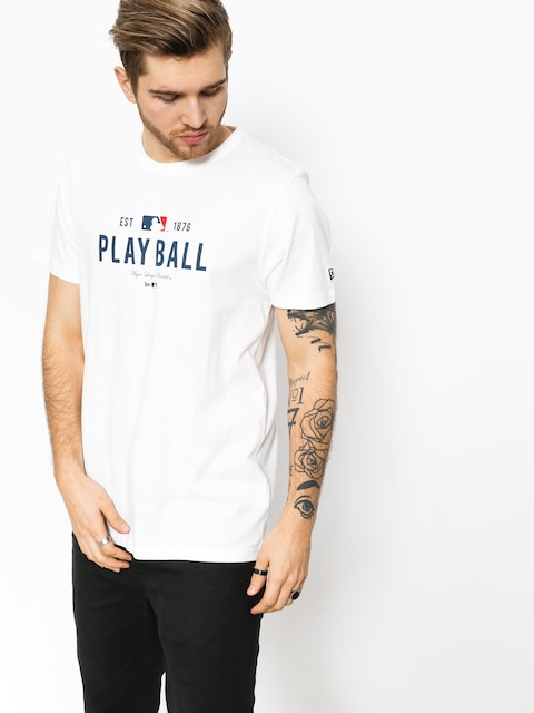 New Era T-Shirt MLB Slogan (white)