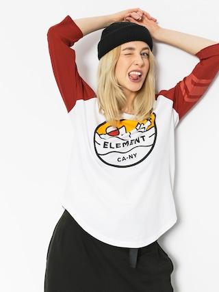 Element T-shirt Attitude Wmn (red dalhia)
