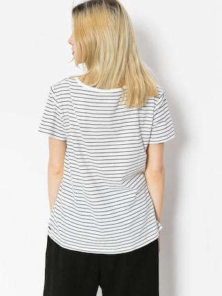 Roxy T-shirt Just Simple Stripe Wmn (dress blue just simple stripe)