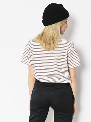 Roxy T-shirt Just Simple Stripe Wmn (tandoori spice just simple str)