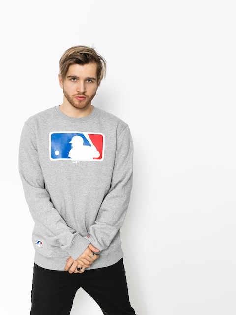 New Era Sweatshirt Nos MLB Logo (grey heather)