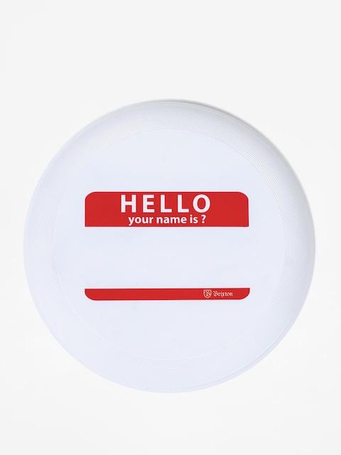 Brixton Frisbee Hello Disc (white)