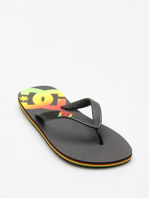DC Flip Flops Spray (rasta)