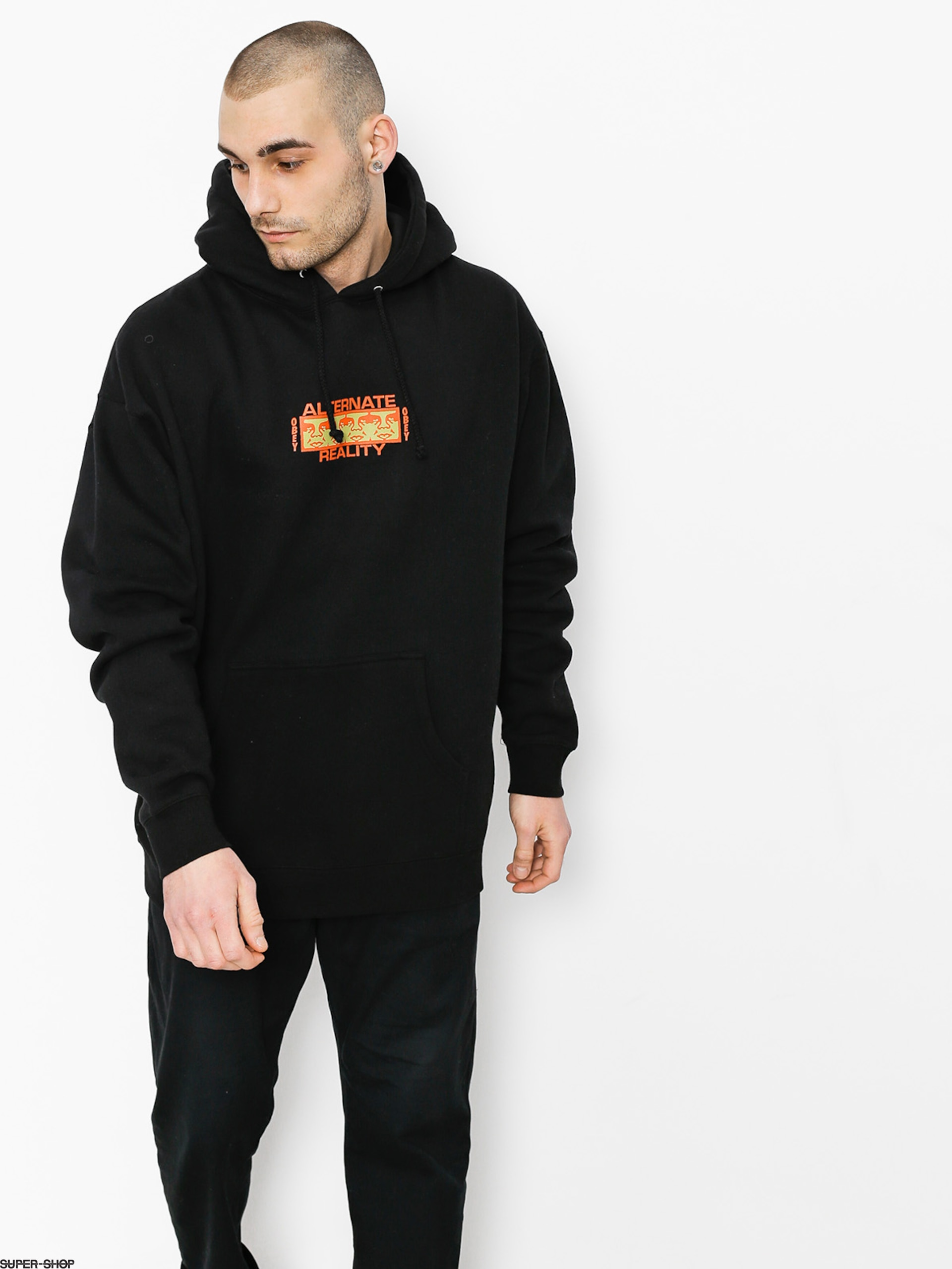 OBEY Sweatshirt Alternate Reality HD (blk)