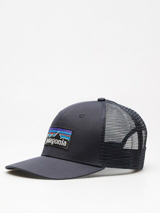 Patagonia Cap P6 Logo Trucker ZD (navy blue w/navy blue)