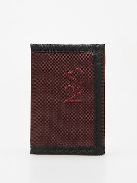 Nervous Wallet Incomplete (maroon)