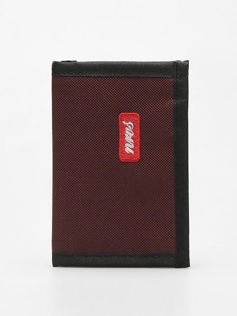 Nervous Wallet Script (maroon)