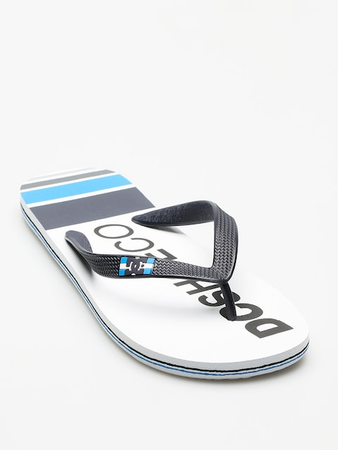 DC Flip-flops Spray Graffik (white/navy)