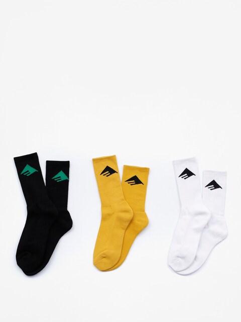 Emerica Socks Pure 3 Pack (assorted)