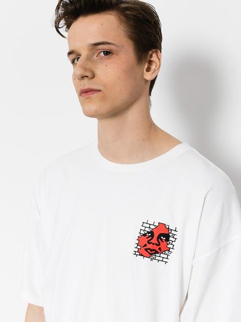 OBEY T-shirt Big Boy Pants Basic (wht)