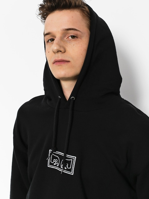 OBEY Hoodie These Eyes HD (blk)