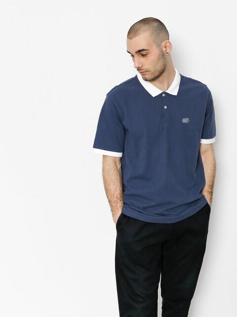 OBEY Polo t-shirt No Coast (bmu)