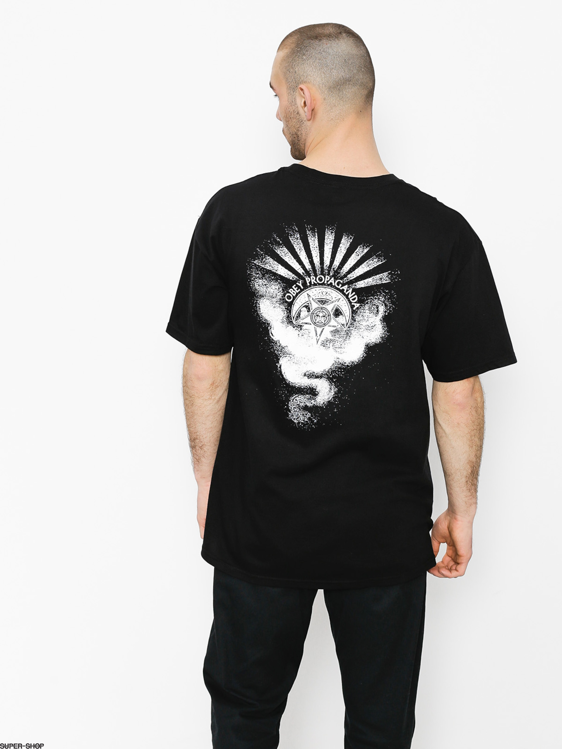 OBEY T-Shirt Obey Cult Of Dark Smoke (blk)